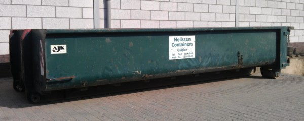 container 8m3 - nelissen containers