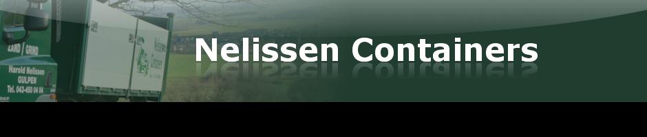 Nelissen Containers - Transportbedrijf, Containerverhuur, Leveren van Zand en Grind in Zuid Limburg