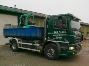 transport van machine - nelissen containers